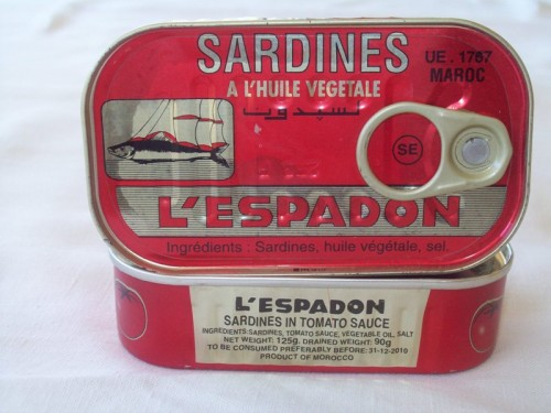 When is a sardine not a sardine.......?