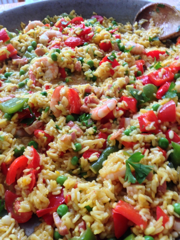 Clear up Paella...