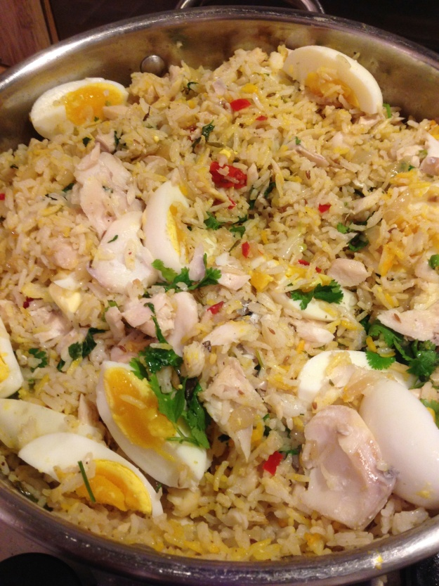 The symphony that is kedgeree.....