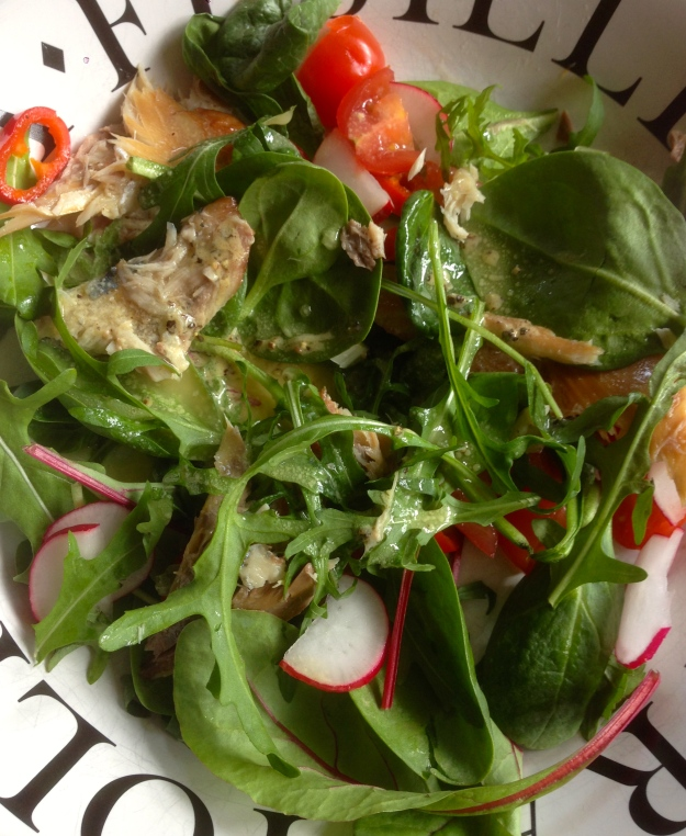 Smoked Mackerel Makes a Magical Salad