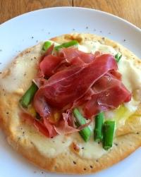 Asparagus, Taleggio and Prosciutto Pizzetta...