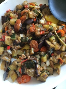Home made ratatouille