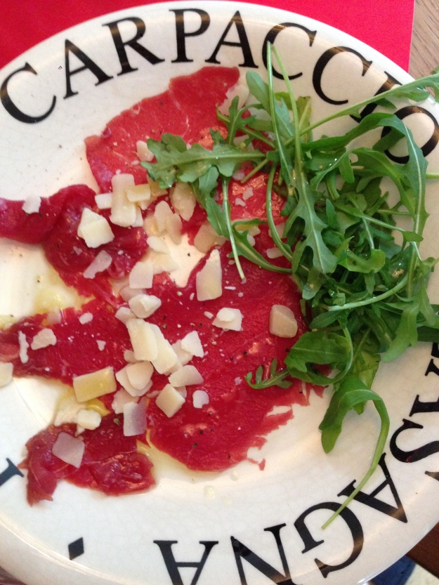 Christmas Carpaccio!